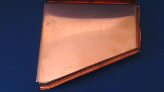 Copper Plain Fascia End Cap