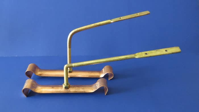 Copper Regal Bar Hangers