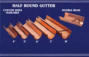 half-round gutters