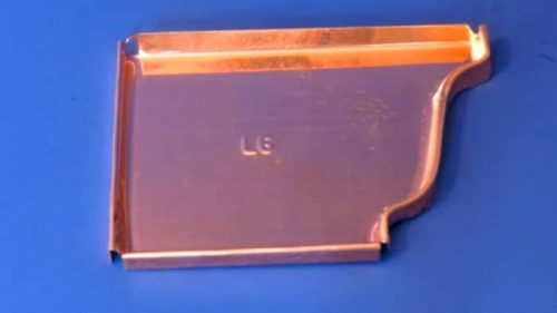 Copper K-Style or Ogee End Cap Left