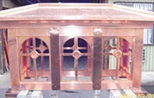 Arched Corinthian Shroud