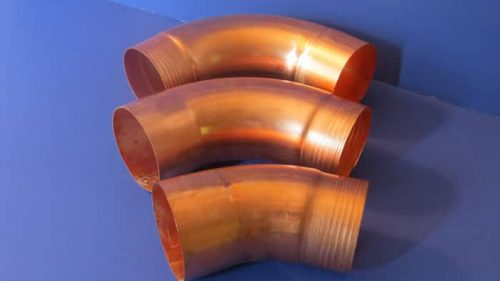 smooth copper elbows