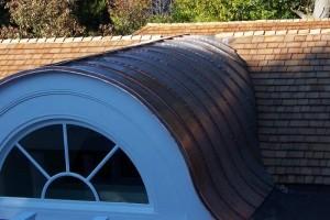 copper dormer roof