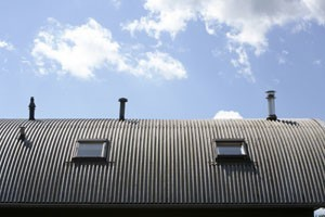 commercial aluminum roof