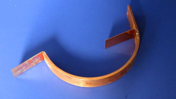 Copper Fascia Mount Bracket