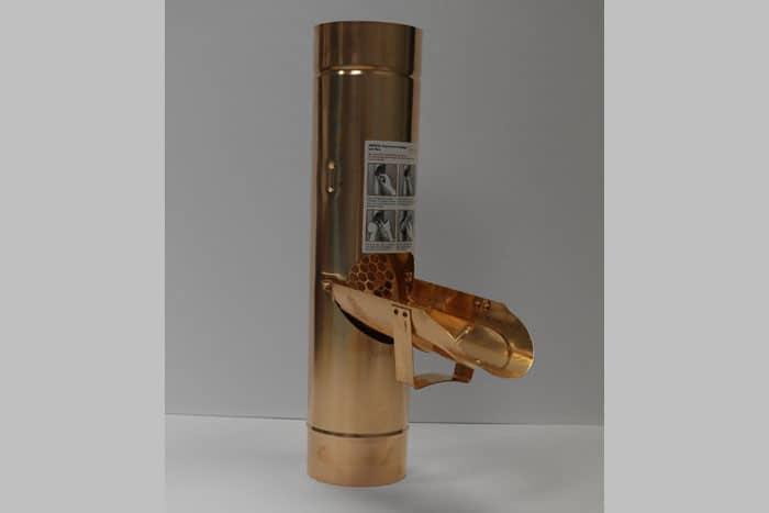 EuroGutterUSA Copper Pipe Cleanout