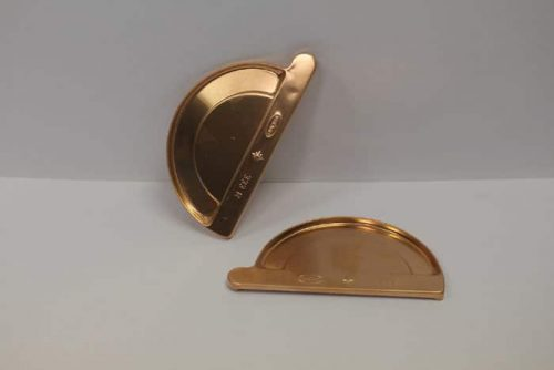 EuroGutterUSA Copper Half-Round End Cap
