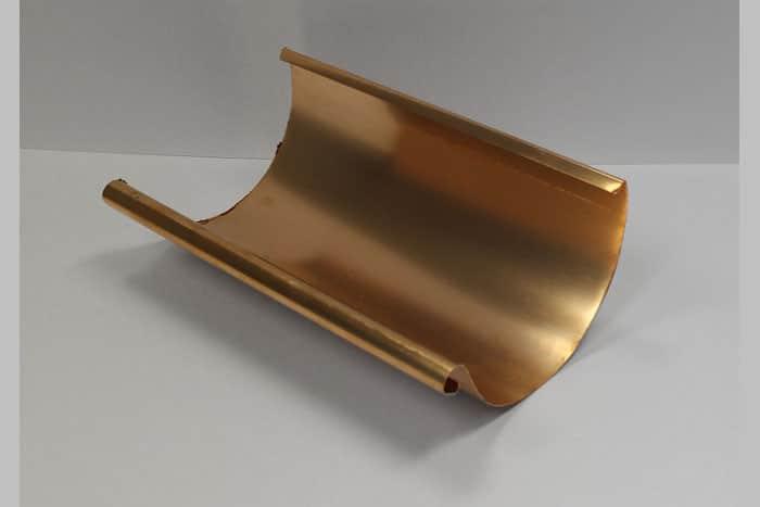 EuroGutterUSA Copper Half-Round Gutter