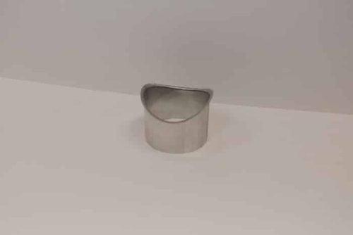 EuroGutterUSA Quartz Zinc Half-Round Drop Outlet