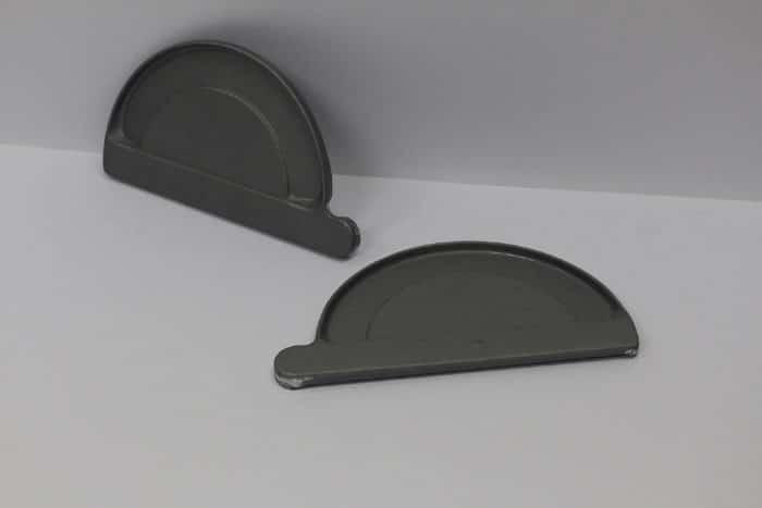 EuroGutterUSA Quartz Zinc Endcaps
