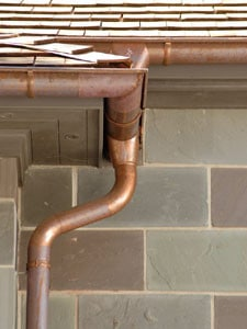 EurogutterUSA Copper Gutter System Installed