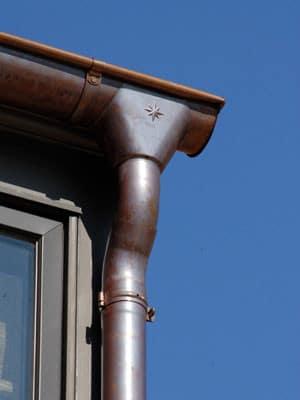 copper gutters by eurogutterusa