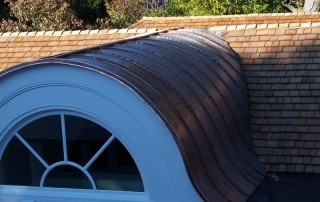 copper dormer roof