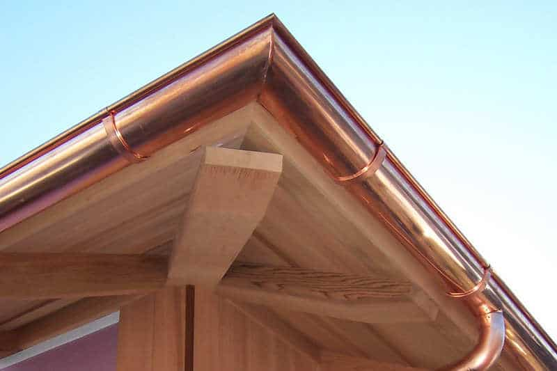 Copper Gutters Cost - Are They Worth It?   Copper vs Aluminum