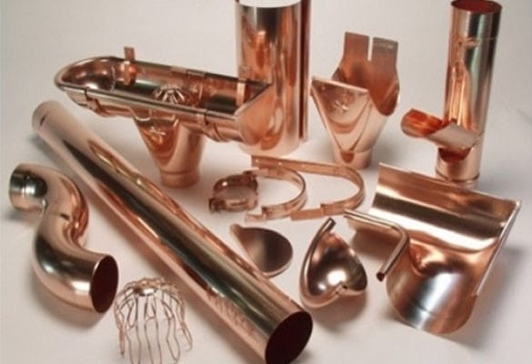 copper gutter accessories