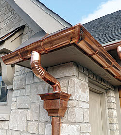 5 Reasons For Choosing Copper Gutters For Your Home