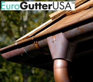 eurogutterusa copper gutter systems