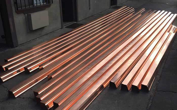copper gutters for hawaii metal roofing