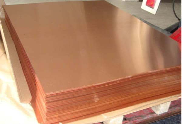 custom cut copper sheets for roofing