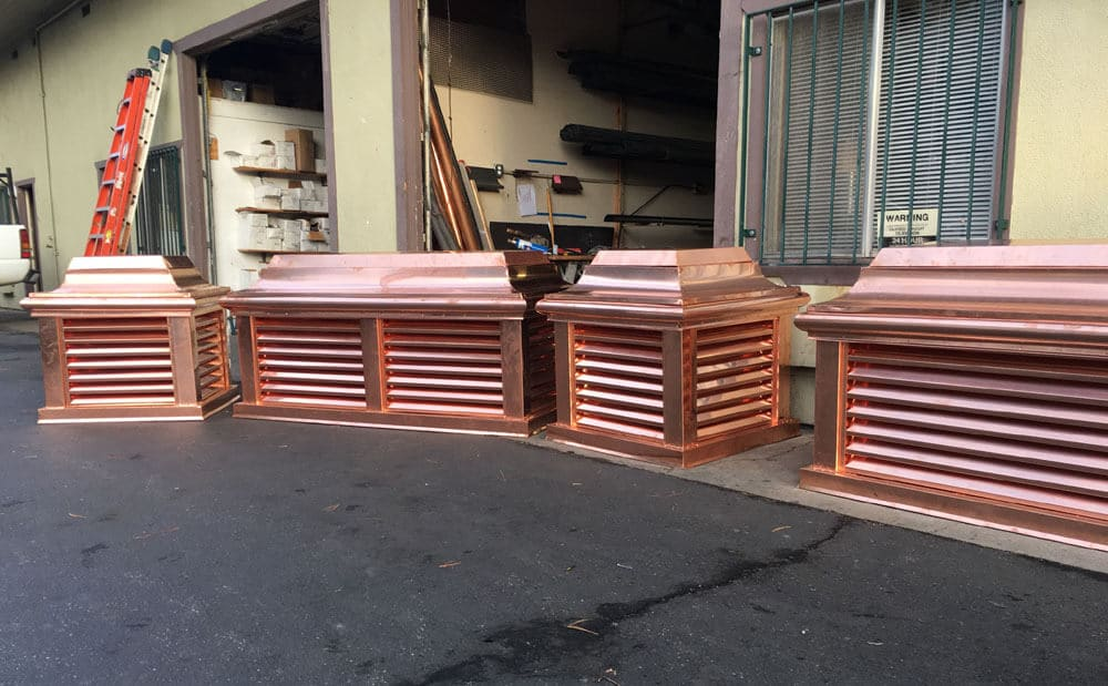 copper chimney caps