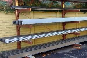 bonderized steel gutters from kobett metals